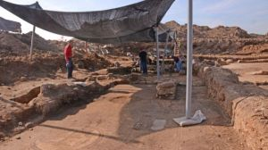 The excavation site (Israel Antiquities Authority)