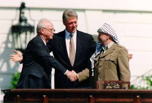 Rabin, Clinto and Arafat